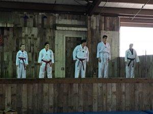 Samurai demo team bbq cookoff 2015